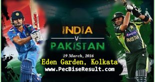 Live Streaming Ind Vs Pak Match 19/03/2016