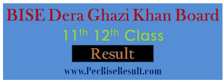 Inter Part2 Result 2016 DG Khan