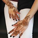 Asian Mehandi Designs 2017