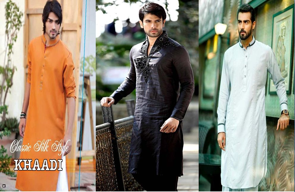Eid-ul-Fitr Men Kurta Designs 2018