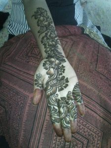 Winter Mehndi Designs 2017