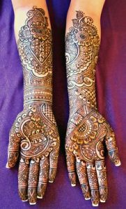Engagement Mehndi Designs 2017