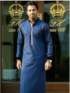 Boy Kurta 2017 Blue Color