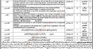 December Session Court Nankana Jobs