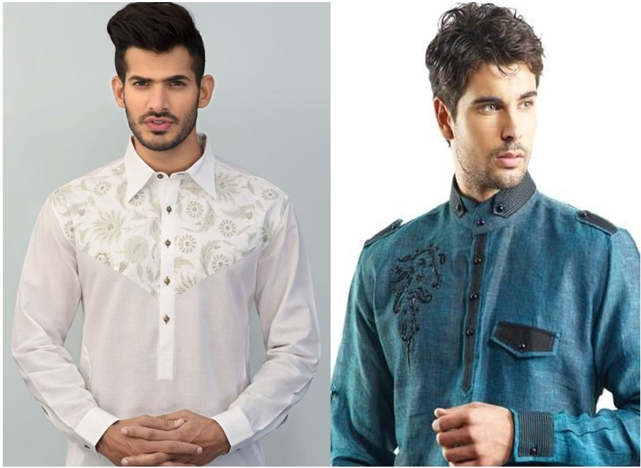 Men Summer Kurta Dresses 2017