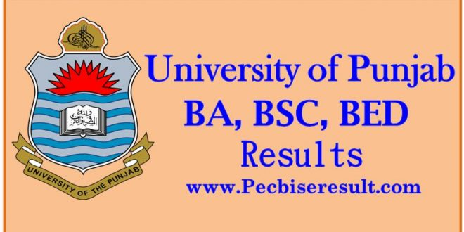 punjab university result ba 2018 lahore