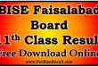 BISE Faisalabad Board 11th Class Result 2017