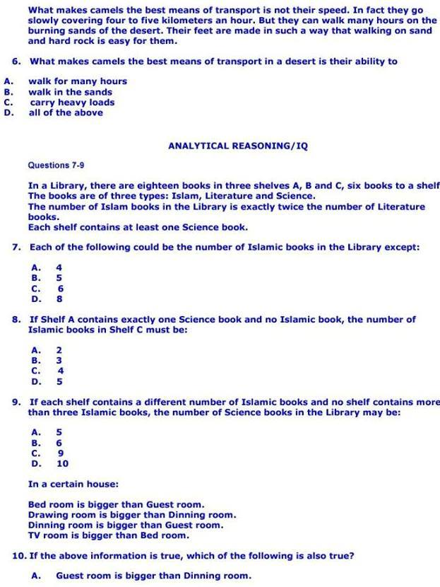 Latest Rescue 1122 FR Written Test Sample Papers