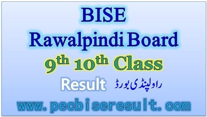 BISE Rawalpindi Board Matric Result 2020