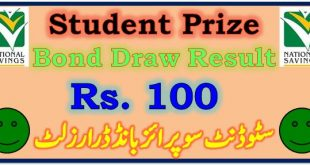 Prize Bond Draw Result 100 November 16 2020