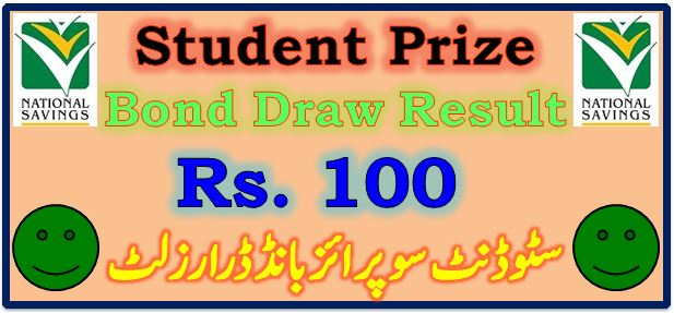Prize Bond Draw Result 100 May 17 2021