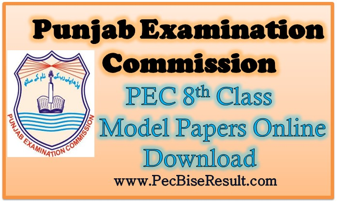 Punjab 8th Class Model Papers 2018