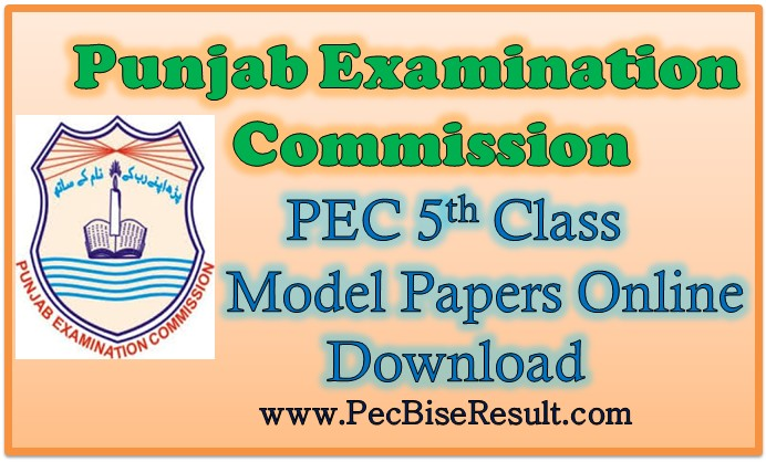 Online 5th Class Model Papers 2018