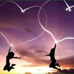New Heart Style in Sky Valentine Day Wallpapers 2016