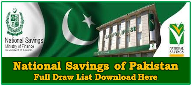 Official Website Savings.gov.pk National Savings of Pakistan