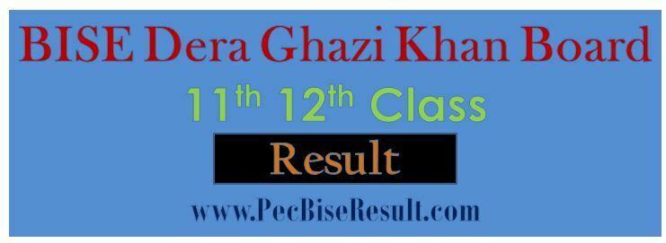 Inter Part2 Result 2016 DG Khan