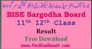 12th class result 2020 sargodha