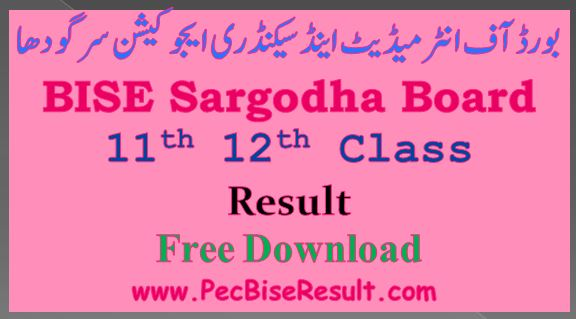 12th class result 2021 sargodha