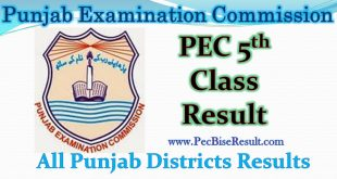 Five Class Result 2019