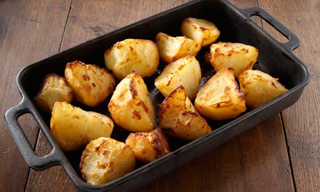 Weight Lose of Roasted Potato
