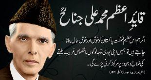 Quaid-i-Azam Khatab Wallpapers