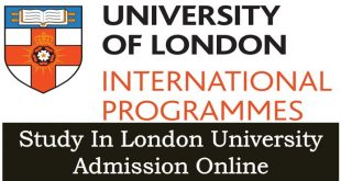 How to Apply Study In London Universities Admission Online