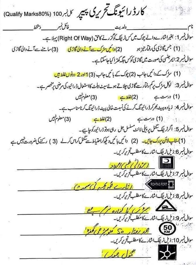 National Testing Service Jobs Written Test Papers