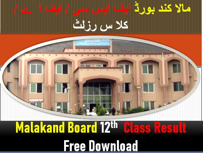 BISE Malakand 12th Class Result 2021