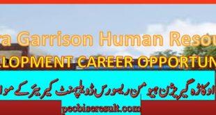Garrison HRD Latest jobs 2020