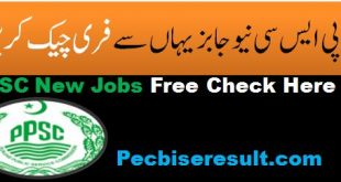Latest Lecturer Jobs 2021 Roll No Slips