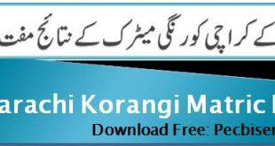 BSEK Karachi Korangi Matric Result 2021 science group