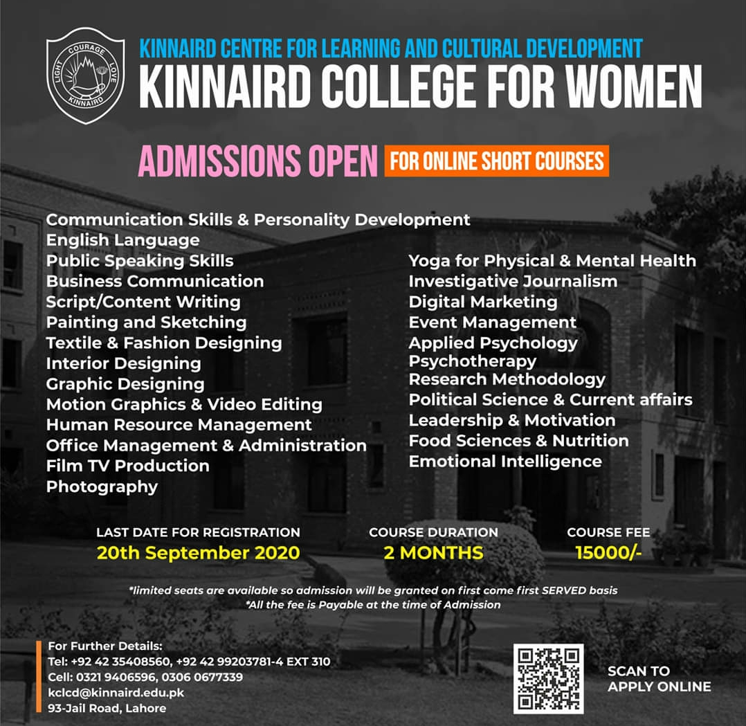 Admission Open in Online Short Courses