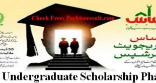 Ehsaas Undergraduate Scholarship 2021
