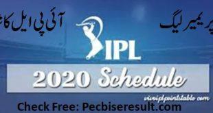 IPL matches detail