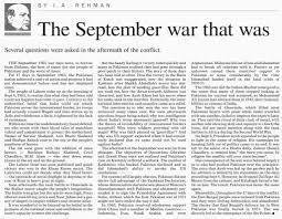 • 6th September 1965 patriotic Speech
