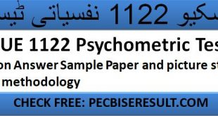 RESCUE 1122 Psychometric Test Question Answer Sample Paper and picture story writing methodology