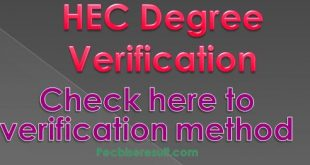 HEC Verification
