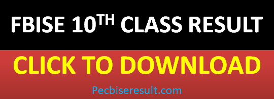 FBISE Supple Result 10th Class