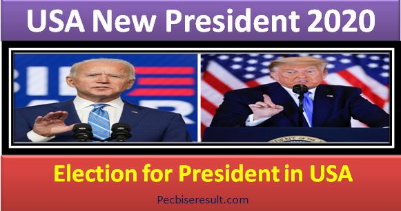 United States of America New President 2020