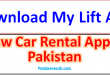 How to Hire a Car by My Lift App 2021