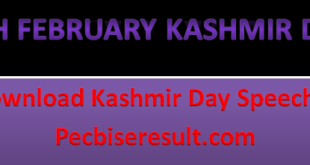 Kashmir Day 5th February 2021