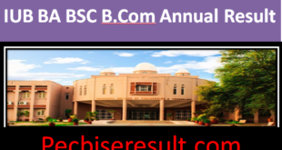 Islamia University Bahawalpur Bachelor Result 2021