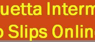 Quetta Board 12th Class Roll no Slips 2021