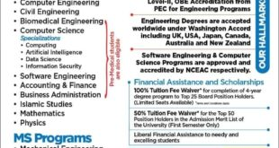 HITEC University of Taxila technical degrees Admission Open 2021