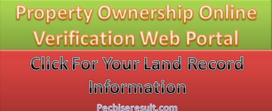 Land Record Information Free Check Online