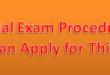 Special Examination Preparation Method