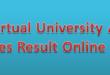 VU Spring Semester Result 2021